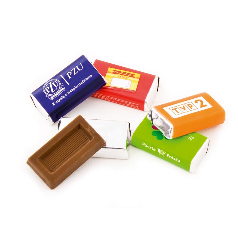 Goedkoop chocolade bedrukken v.a. €0,10