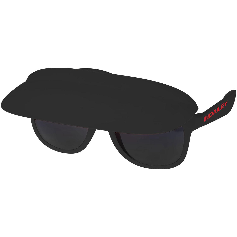 Afbeelding van 100 st. Bedrukte Miami zonnebril Met zonneklep bedrukken zonnebrillen bedrukken In 5 werkdagen
