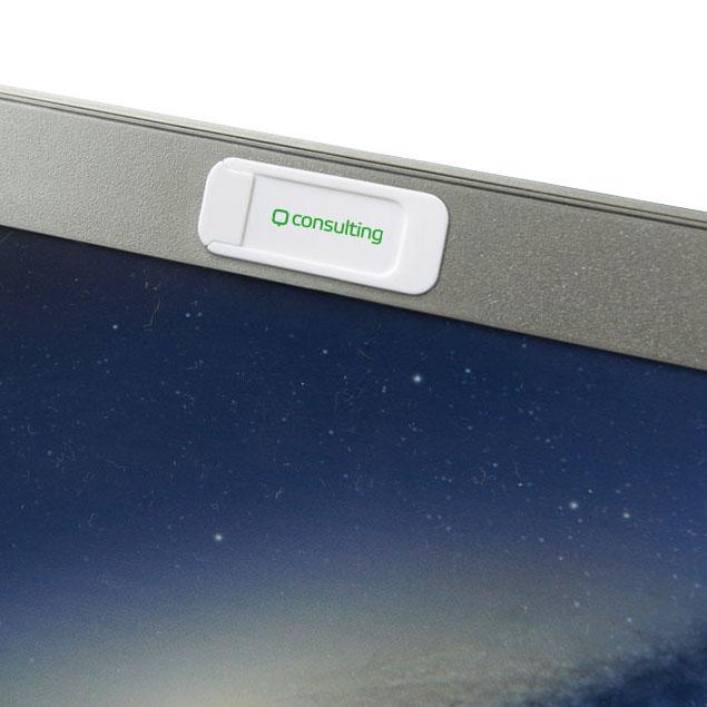 Afbeelding van 100 st. Bedrukte Push privacy camera blokker bedrukken gadgets