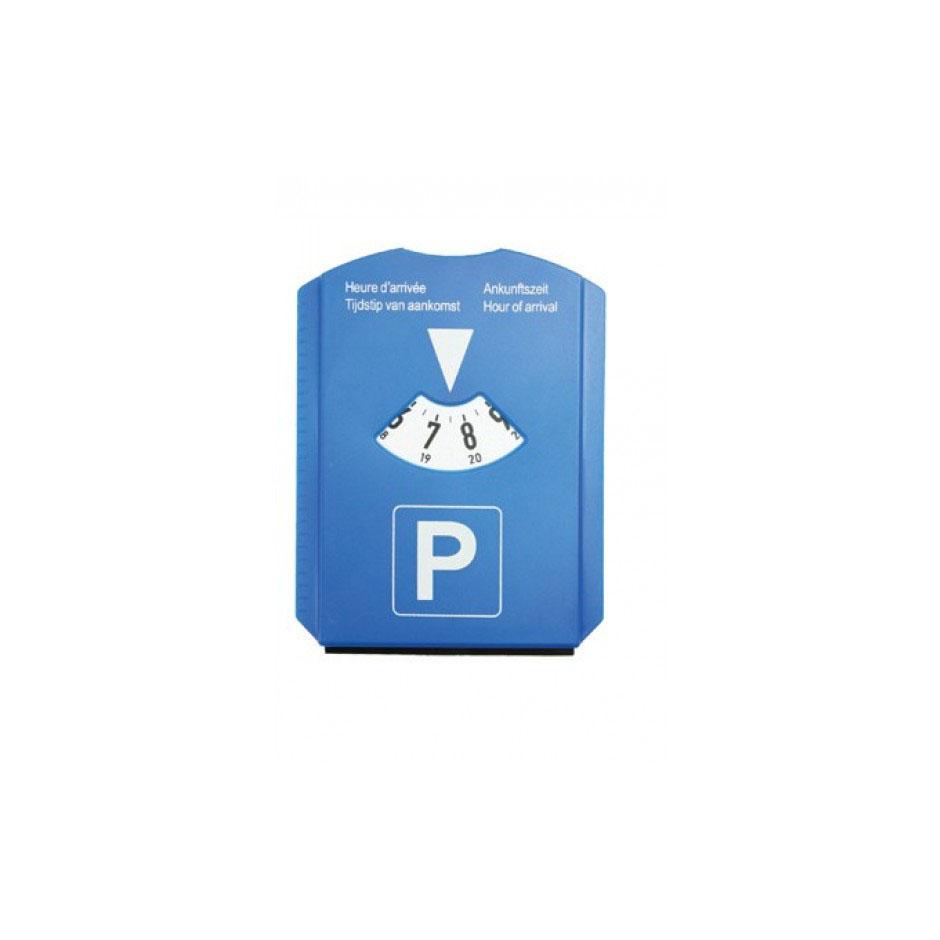 Afbeelding van 100 st. Promotie Parkeerschijf met munt in 5 dagen bedrukken relatiegeschenken auto