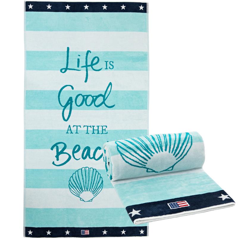 Afbeelding van 100 st. Strandhanddoek Bedrukken 400 grams in 30 dagen