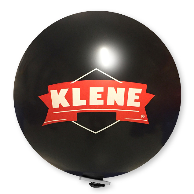 Afbeelding van 10 st. Reuzenballon Kwaliteitsdruk in dagen