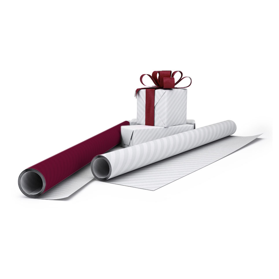 Afbeelding van 100 st. Cadeaupapier Bedrukken Budget 84 x 118,8 cm in 5 dagen