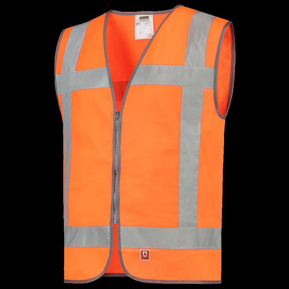 Afbeelding van 10 st. Veiligheidsvesten Met logo bedrukken Vlamvertragend Reflectie EN471 Tricorp Workwear Prijs incl. bedrukking