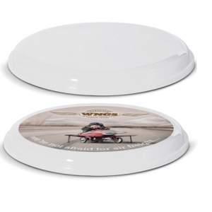 Afbeelding van 100 st. Frisbee Bedrukken Smoothy Fly 23 cm In 10 werkdagen