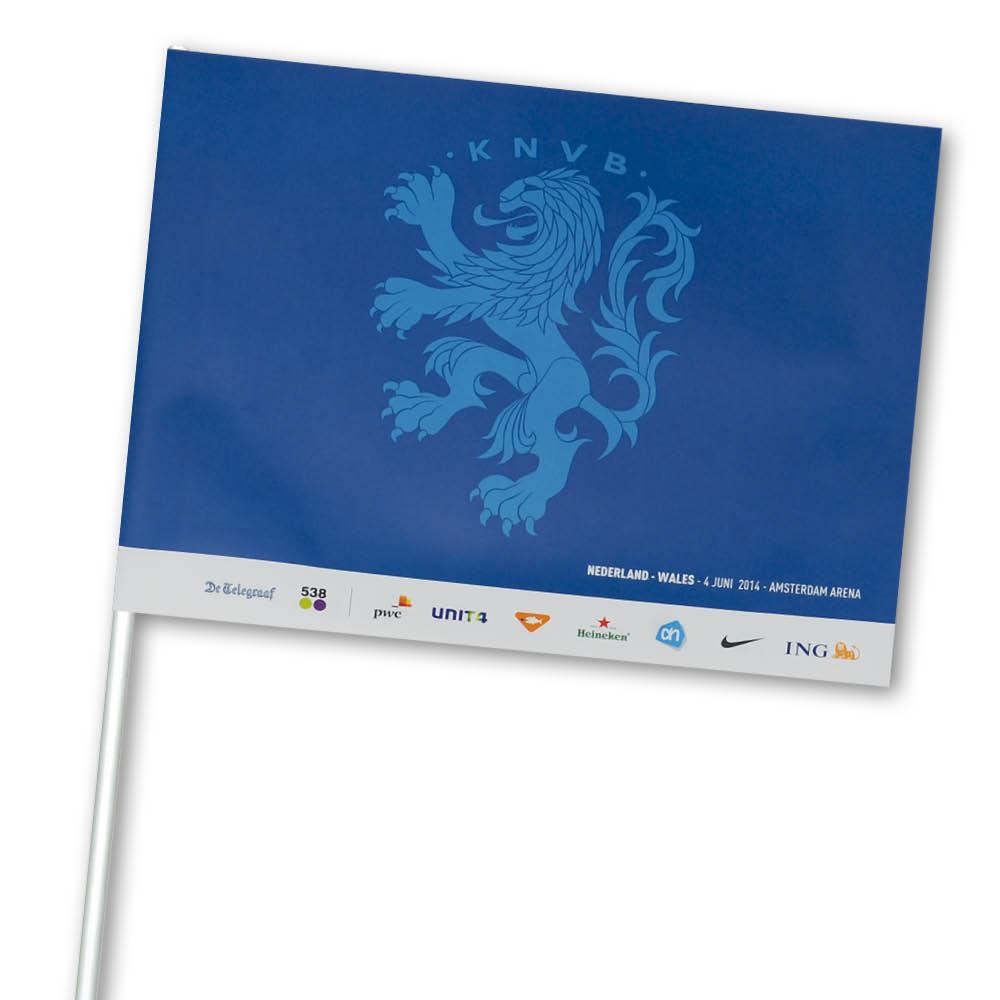 Afbeelding van 1000 st. Supportersvlag Bedrukken Papier Full Colour In 9 werkdagen