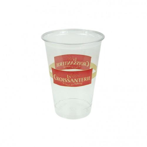 Afbeelding van 1000 st. Bedrukte Plastic beker 20CL buigzaam bedrukken drinkbekers bedrukken In 20 werkdagen