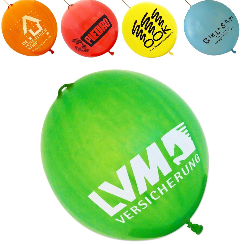 Afbeelding van 100 st. Punchballonnen met bedrukking In 11 werkdagen