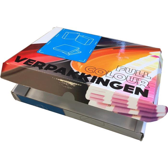 Afbeelding van 125 st. Brievenbus doosje luxe A4 full colour in 10 dagen bedrukken verpakkingen