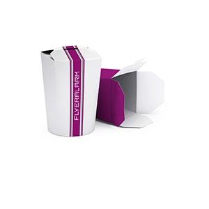 Afbeelding van 1400 st. Noodle box bedrukken Full Colour in 15 dagen