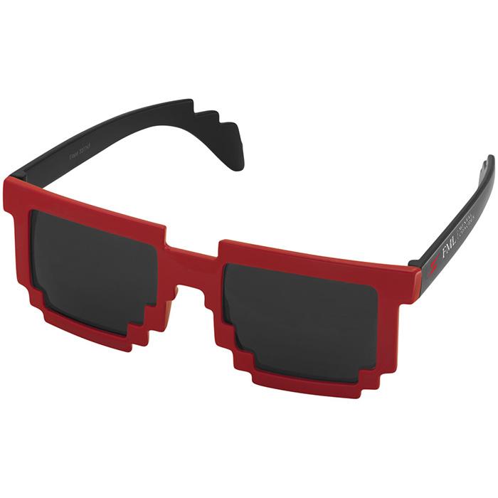 Afbeelding van 100 st. Bedrukte Zonnebril Pixel Moderne look bedrukken zonnebrillen bedrukken In 6 werkdagen
