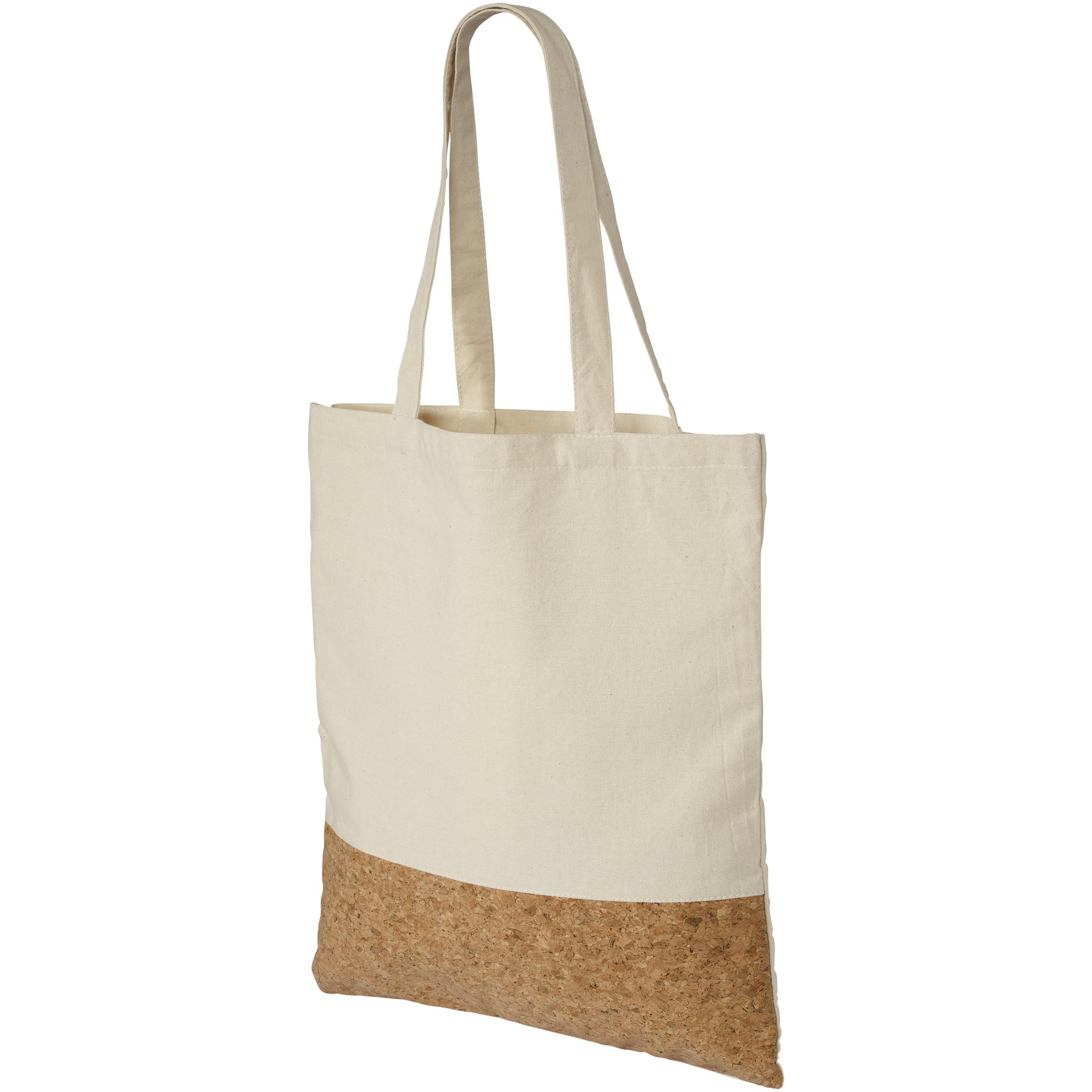 Katoenen Tassen Hip : Katoenen tas met kurk