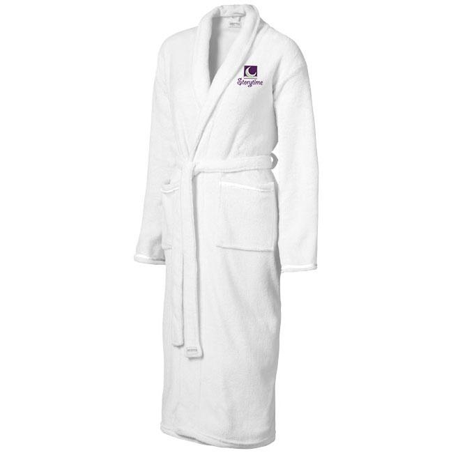 Afbeelding van 10st. Bedrukte Badjas Dames 245 grams bedrukken handdoeken