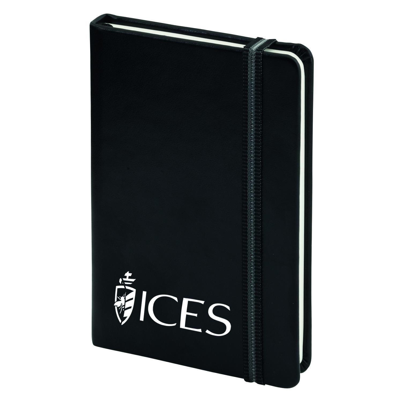 Afbeelding van 100 st. A5 Hardcover Notitieboekjes Met Logo Bedrukken Boekenlegger PU