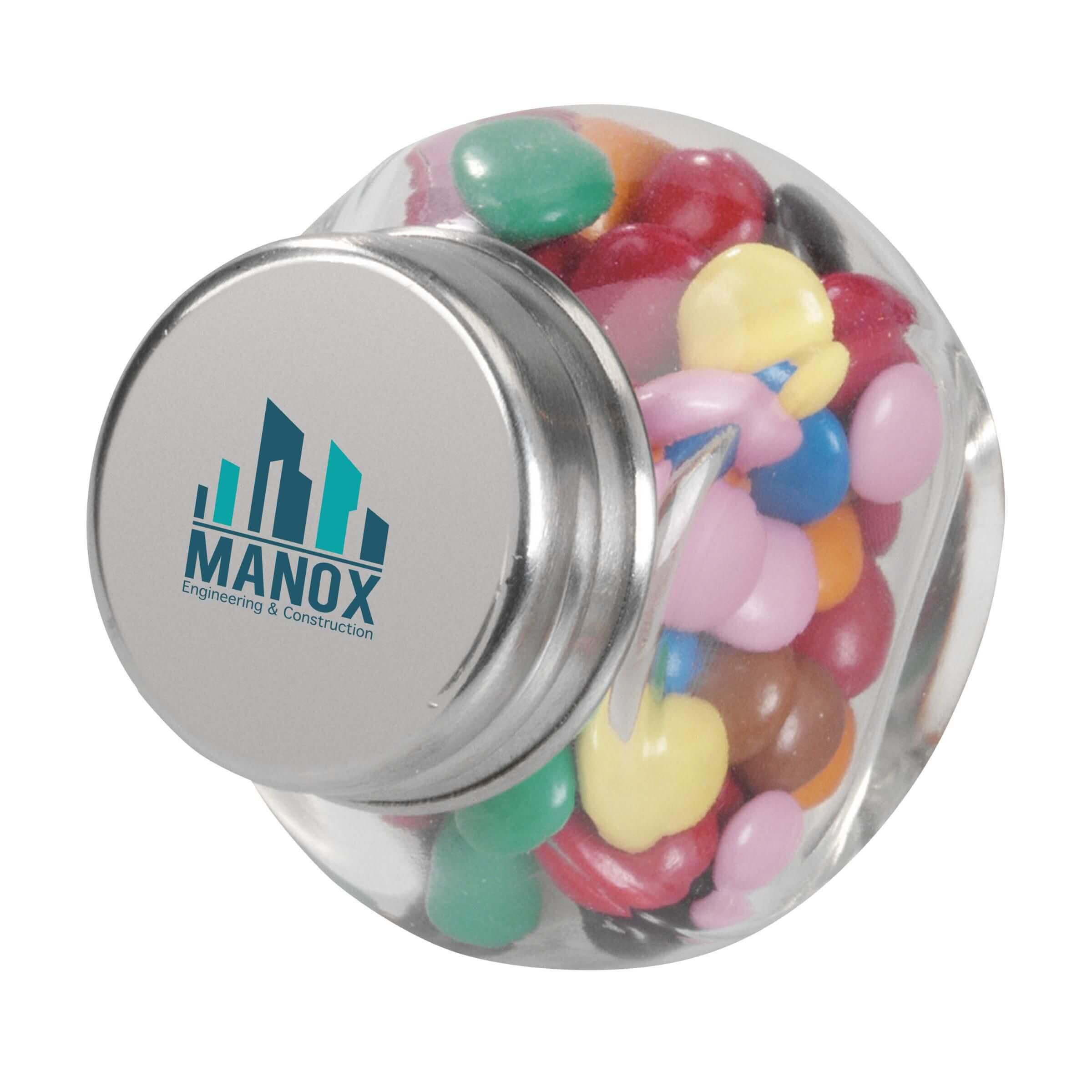 Afbeelding van 100 st. MiniCandy relatiegeschenk in 12 dagen bedrukken snoep