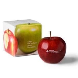 Afbeelding van 140 st. Bedrukte appels In doosje 5 werkdagen