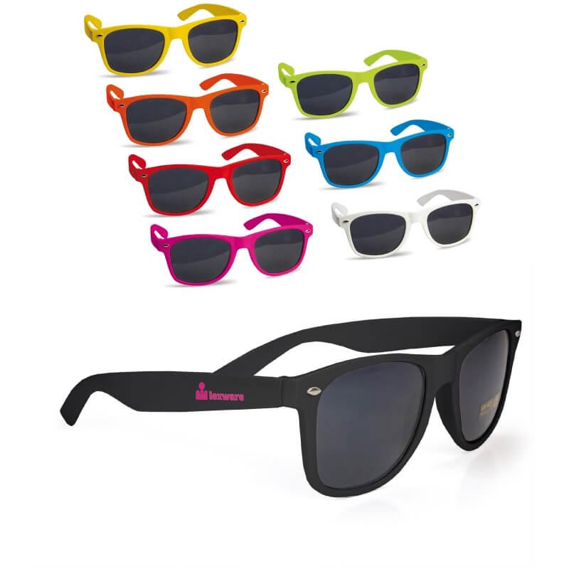 Afbeelding van 100 st. Bedrukte Zonnebril Justin Eigentijdse look bedrukken zonnebrillen bedrukken In 10 werkdagen