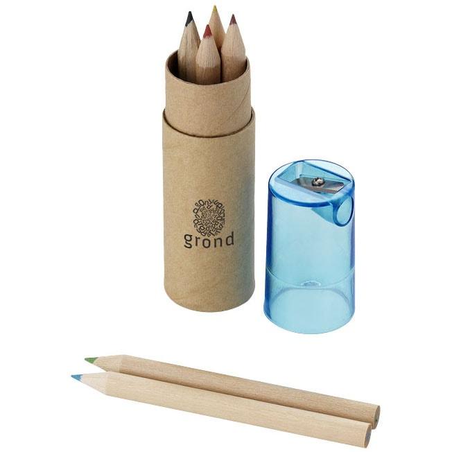 Afbeelding van 100 st. 7 delige potlodendoos bedrukken Promo In 6 werkdagen