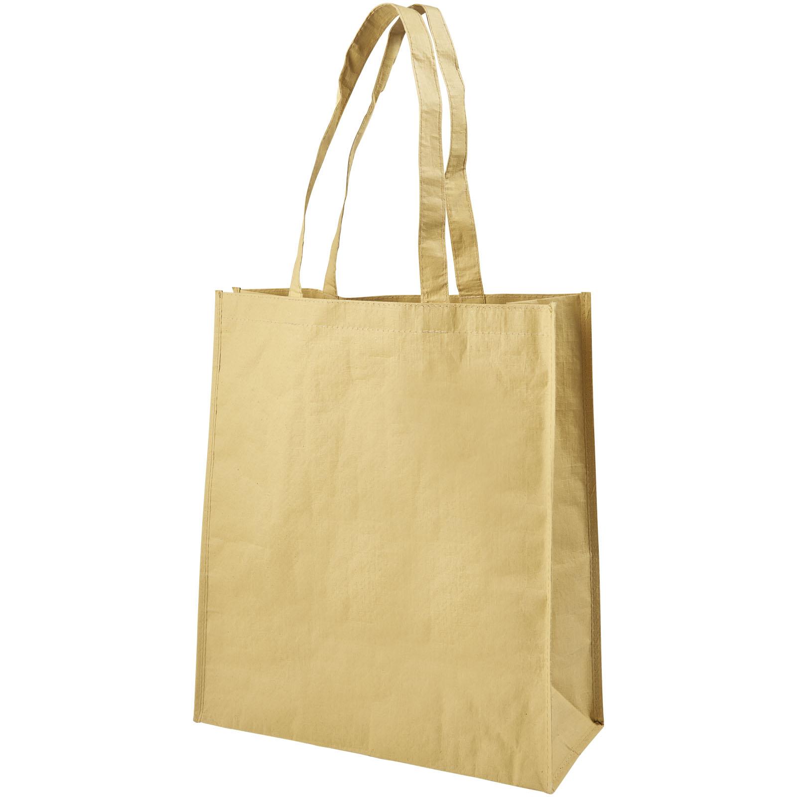 Afbeelding van 100st. Bedrukte Boodschappentas Papier geweven bedrukken tassen