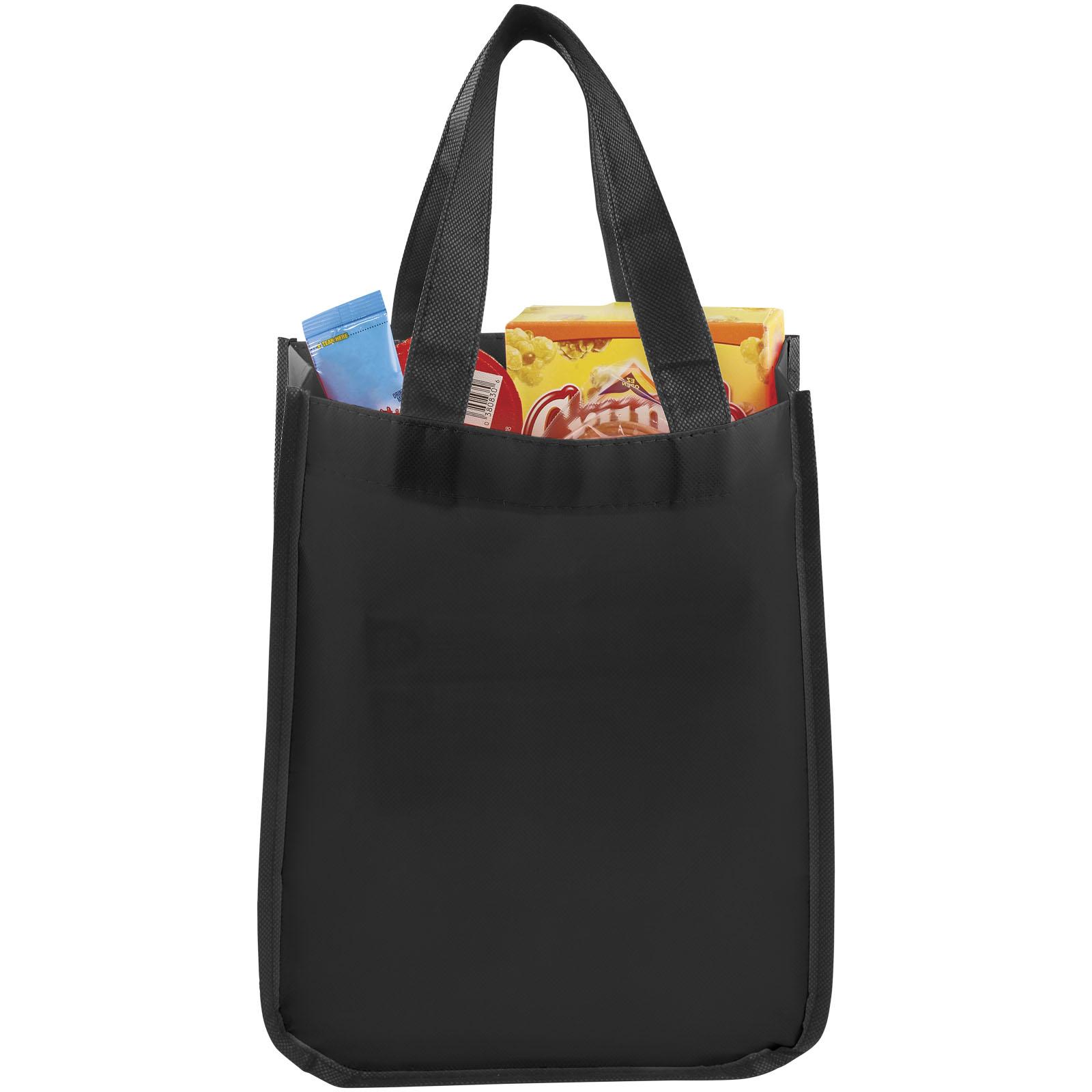Afbeelding van 100st. Bedrukte Boodschappentas Nonwoven 80 grams bedrukken tassen
