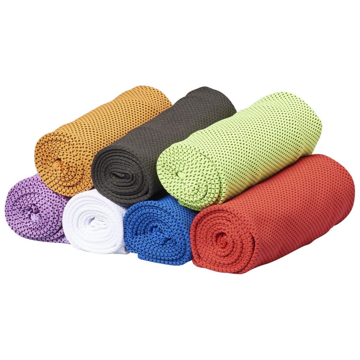 Afbeelding van 100st. Bedrukte Fitness handdoek Alpha Polyester bedrukken handdoeken