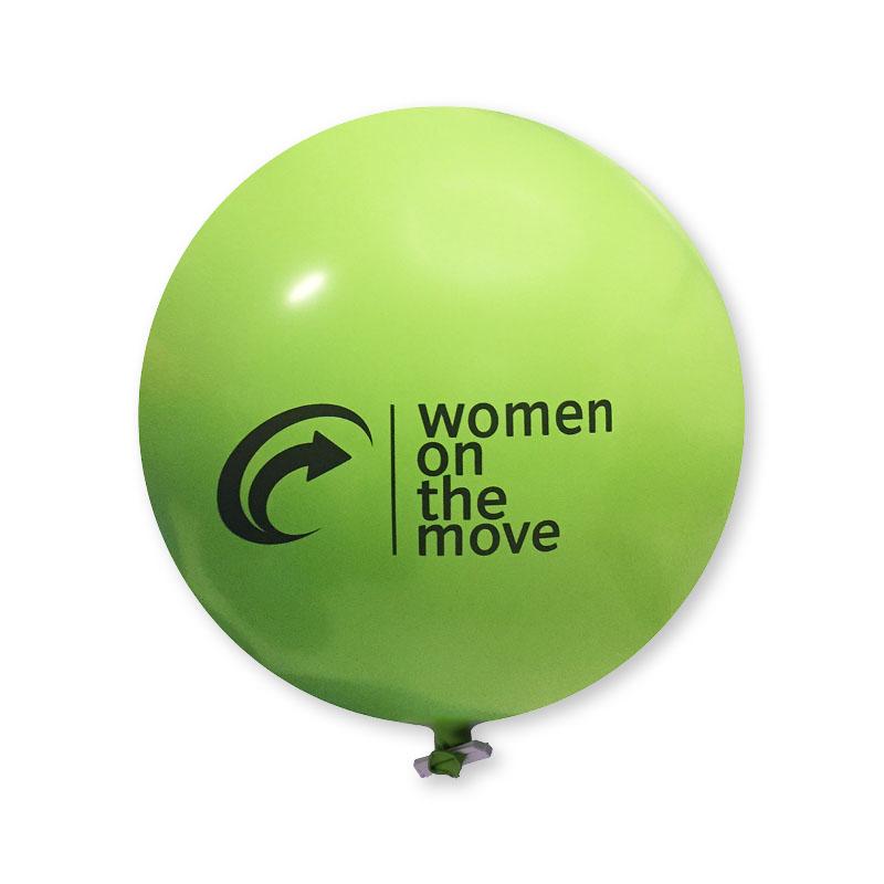 Afbeelding van 10 st. Reuzenballon Bedrukken Qualityprint Prijs incl. bedrukking
