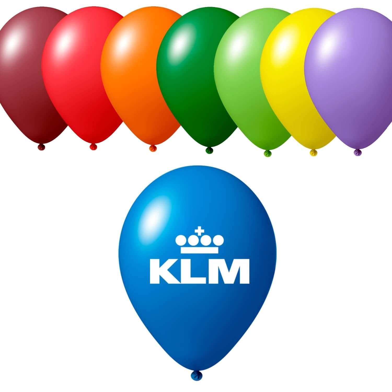 Afbeelding van 100 st. Ballonnen bedrukken va stuks snel Prijs incl. bedrukking