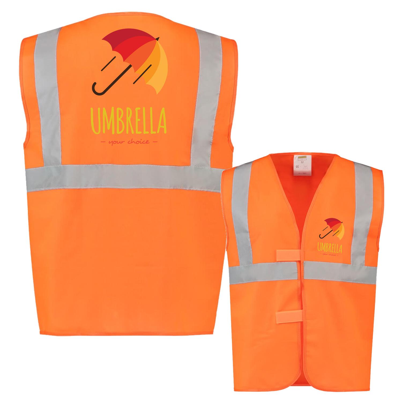 Afbeelding van 10 st. Veiligheidsvest Bedrukken Reflectie EN471 Tricorp Workwear Prijs incl. bedrukking