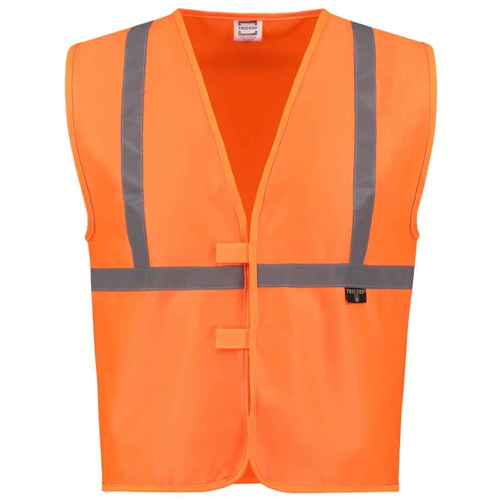 Afbeelding van 10 st. Veiligheidsvest Bedrukken Kinderen Reflectie EN1150 Tricorp Workwear Prijs incl. bedrukking