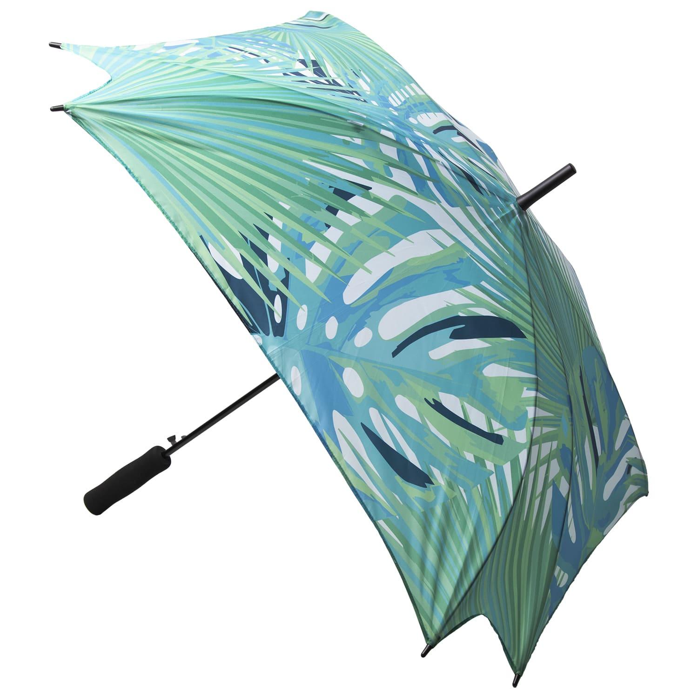 Afbeelding van 15st. Bedrukte paraplu Custom made Vierkant bedrukken