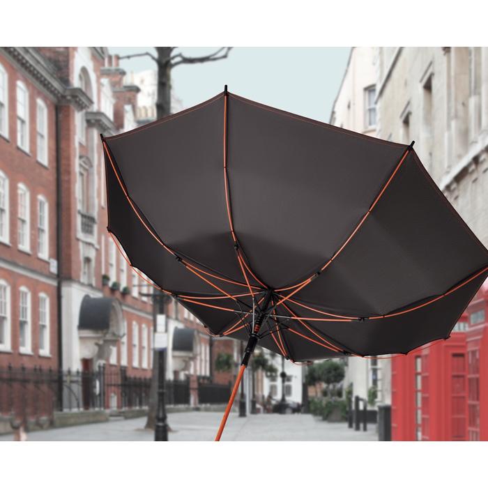 Afbeelding van 25 st. Bedrukte Skye paraplu Automatisch Ø 102 cm bedrukken bedrukken In 3 werkdagen