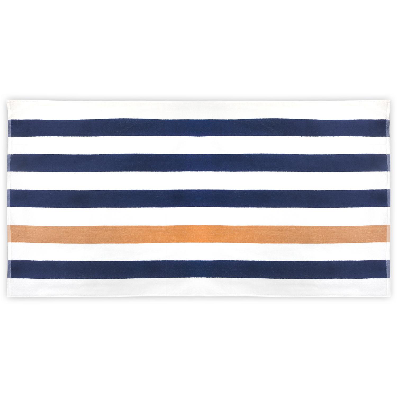 Afbeelding van 10st. Bedrukte Strandlaken marine 190 x 90 cm bedrukken handdoeken