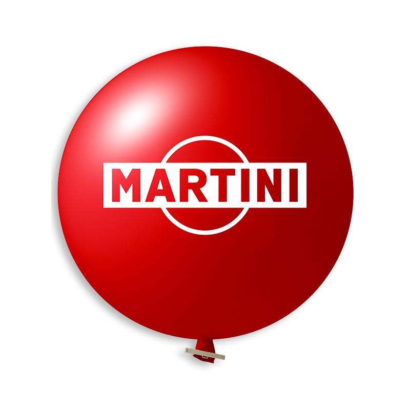 Afbeelding van 10st. Bedrukte Reuzenballon Ø 55 cm Snel bedrukken ballonnen met logo