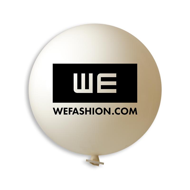 Afbeelding van 10st. Bedrukte Reuzenballon Ø 115 cm Snel bedrukken ballonnen met logo