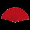 Gekleurde waaier | Groot drukoppervlak | 158096 rood