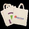Katoenen tas met korte hengsels   Tot 4 kleuren bedrukking   Standaard kwaliteit