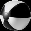 Strandbal | 26 cm | Witte vlakken | Snel