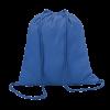 Gekleurd katoenen rugzakje | Tot 4 kleuren opdruk | 100 gr/m2 | 8798484 koningsblauw