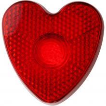 Veiligheids lampje Hart