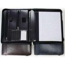 Leren Schrijfmap   Accessoires   Leder   712001/1 Blauw