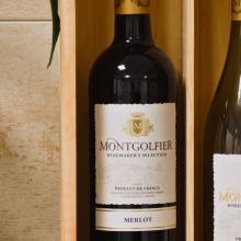 Wijnkist   2 vaks   Full colour   Zonder wijn   560402FC