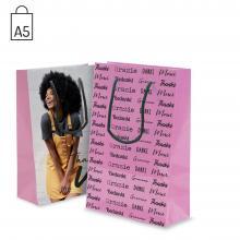 Papieren tas | A5 | Mat of Glossy | PEFC-gecertificeerd | 108GL05