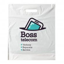 Plastic tas | Wit | Groot A3