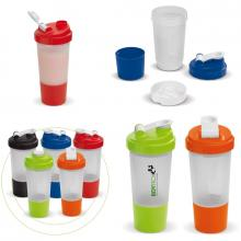 Shaker | Inclusief compartiment | 500 ml