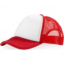 Trucker cap | Verstelbaar | Goedkoop | max015 Rood / Wit