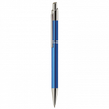 Metalen pen | Gravering of full colour | Blauwschrijvend | max039 Blauw