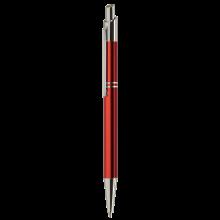 Metalen pen | Gravering of full colour | Blauwschrijvend | max039 Rood