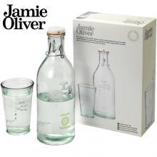 Carafe d'eau avec son verre | Jamie Oliver | 1L
