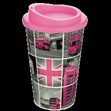 Coffee-to-go beker   Kunststof   350 ml   Full colour