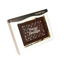 Chocolade kerstkaart | Prettige Feestdagen